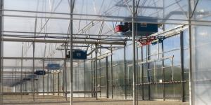 Heating of greenhouses Italy